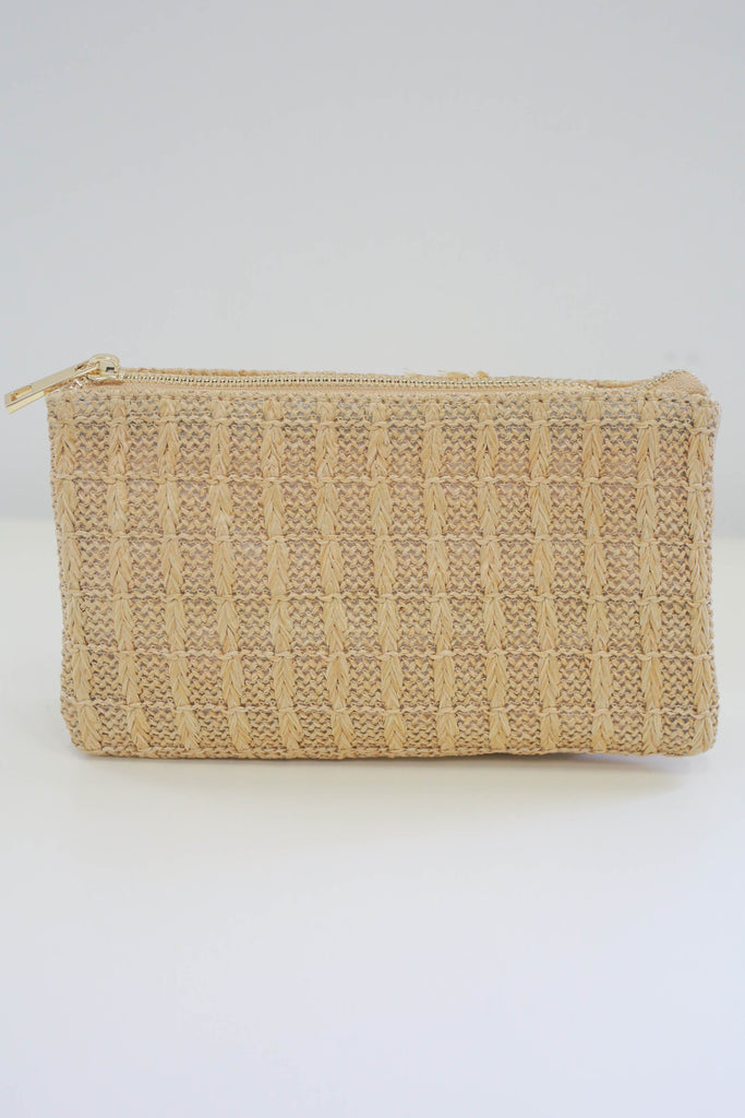 Woven Clutch - Online Clothing Boutique