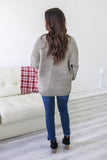 Chunky Cable Knit Cardigan - Online Clothing Boutique