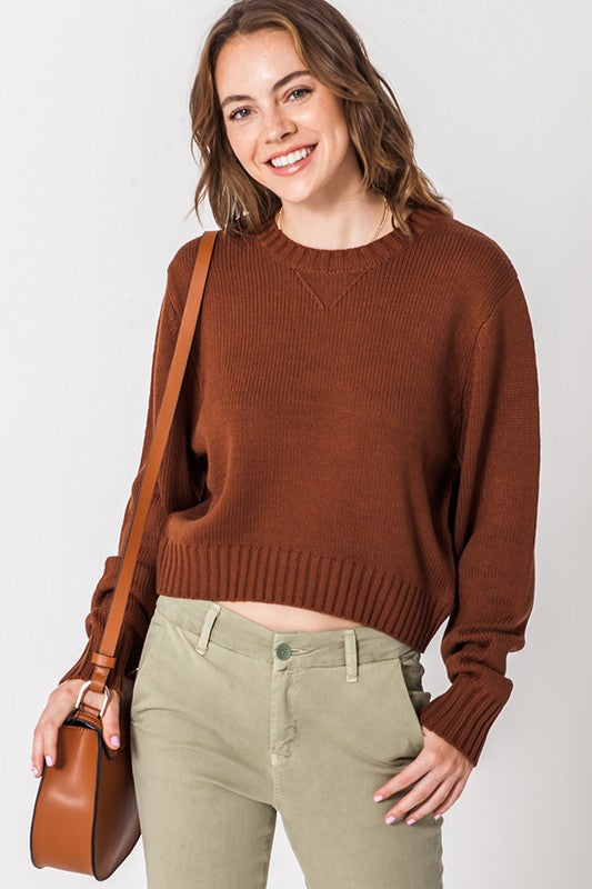 Cropped Sweater | Stylish & Affordable | UOI Online