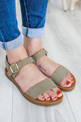 Strappy Faux Leather Sandals | Stylish & Affordable | UOI Online