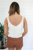 Carefree Crop Top - Ivory