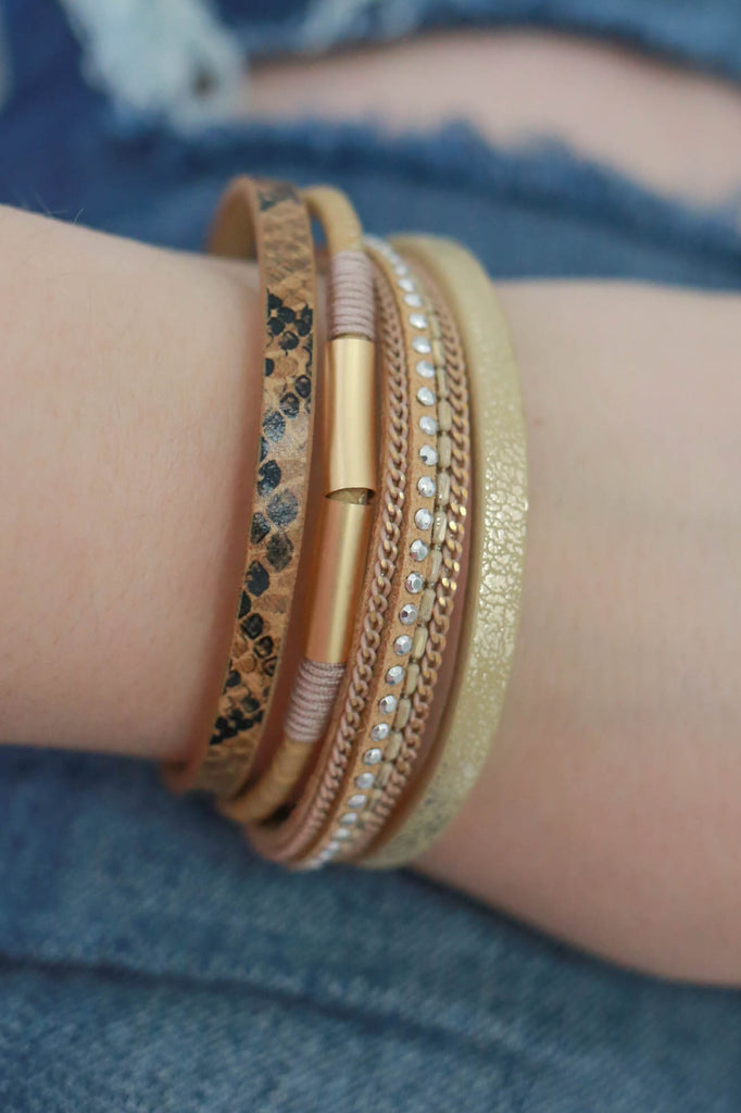 Multi-Strand Bracelet - Online Clothing Boutique