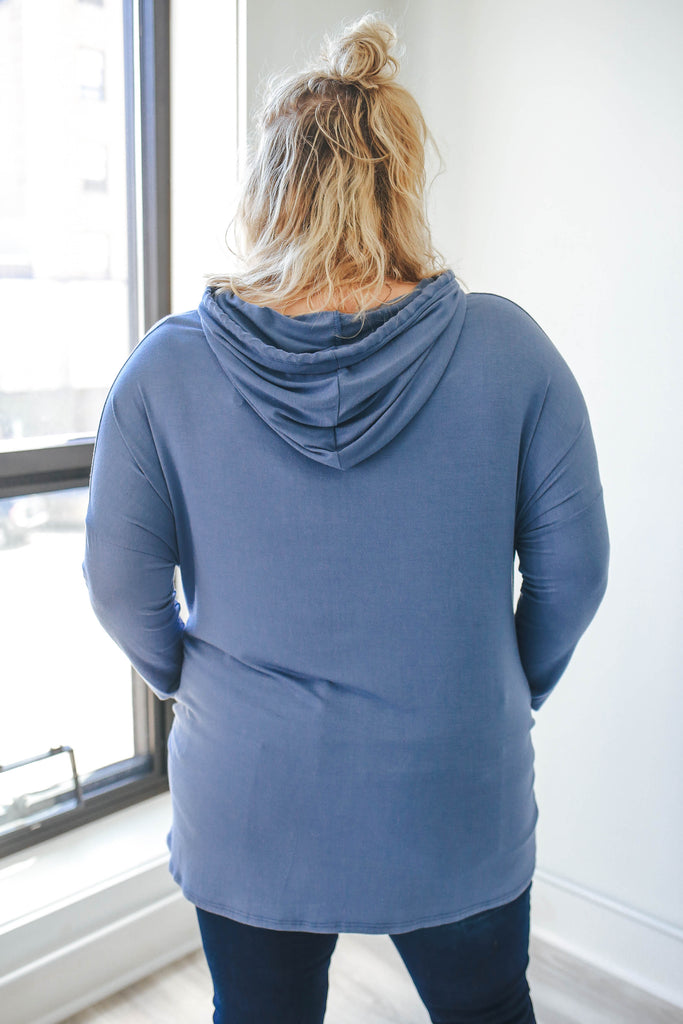 Plus Size Lightweight Sweatshirt - Online Clothing Boutique