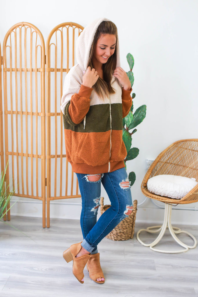 Teddy Bear Jacket | Stylish & Affordable | UOI Online