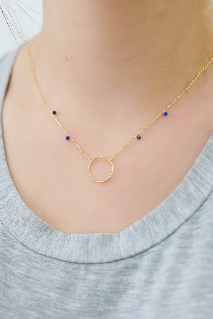 Circle Necklace | Stylish & Affordable | UOI Online