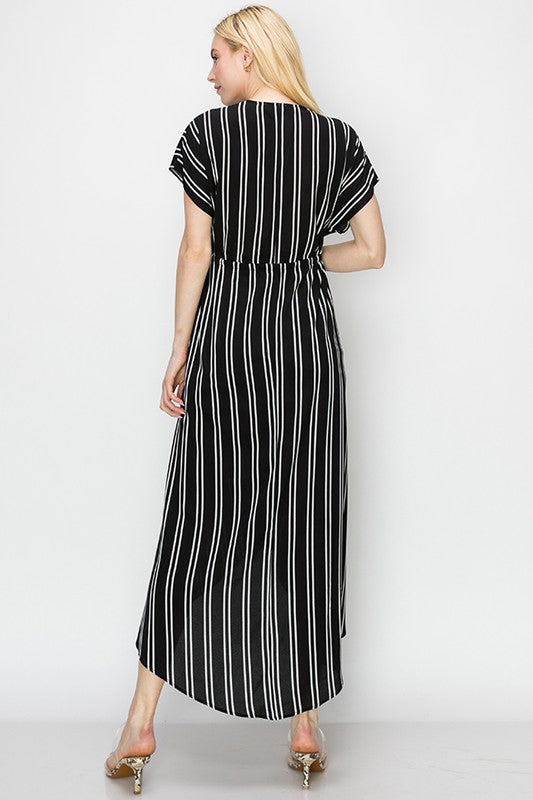Striped Kimono - Online Clothing Boutique