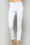 Mid-Rise Cropped Skinny Fit Denim - Online Clothing Boutique