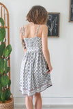 Abstract Print Dress - Online Clothing Boutique