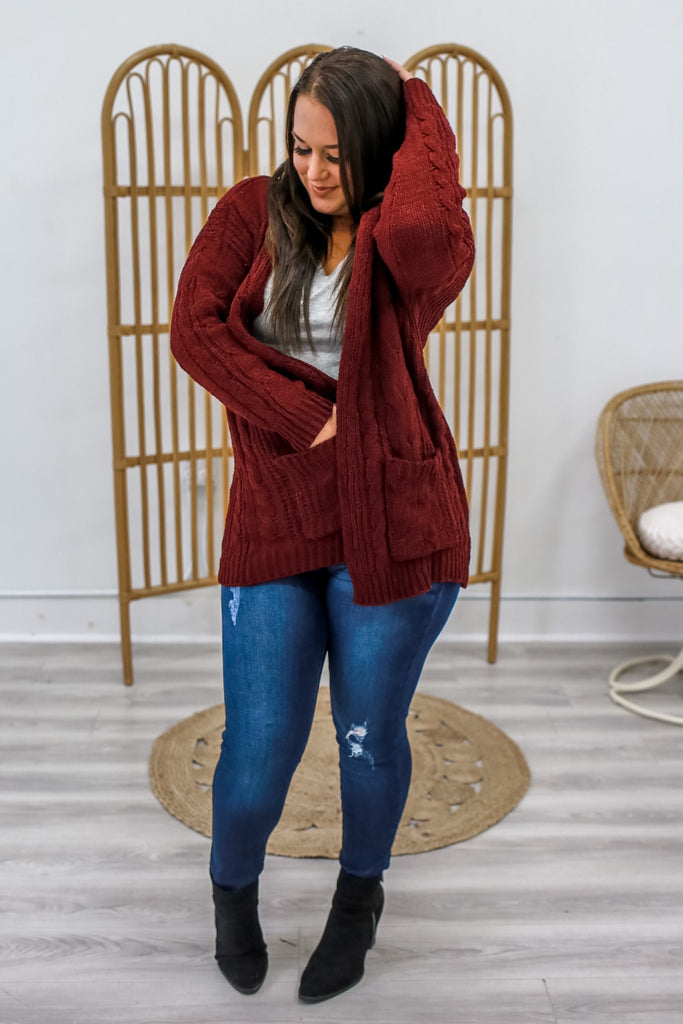 Chenille Cardigan | Stylish & Affordable | UOI Online