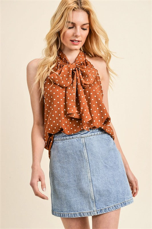Polka Dot Top - Online Clothing Boutique