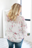 Plus Size Floral Blouse - Online Clothing Boutique