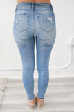 Super Skinny Distressed Denim - Online Clothing Boutique
