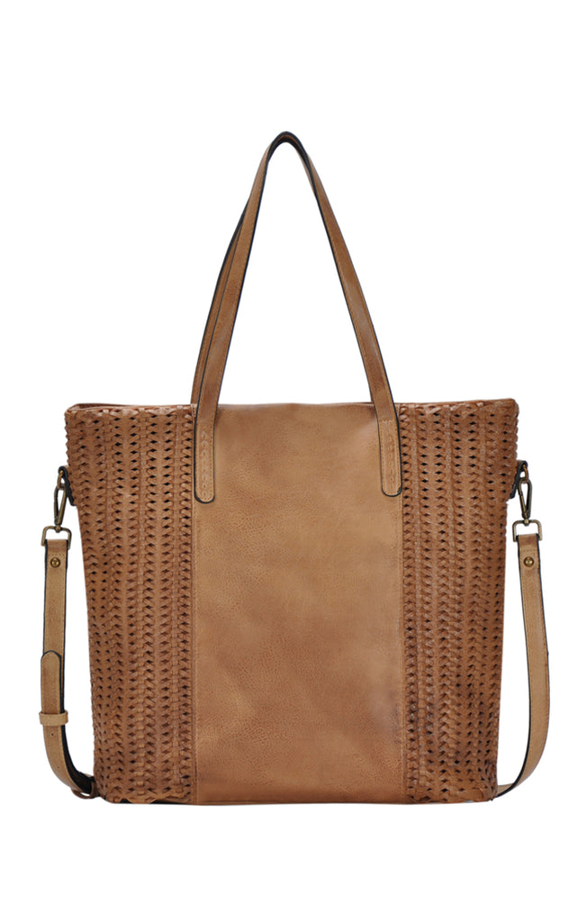 Faux Leather Tote | Stylish & Affordable | UOI Online