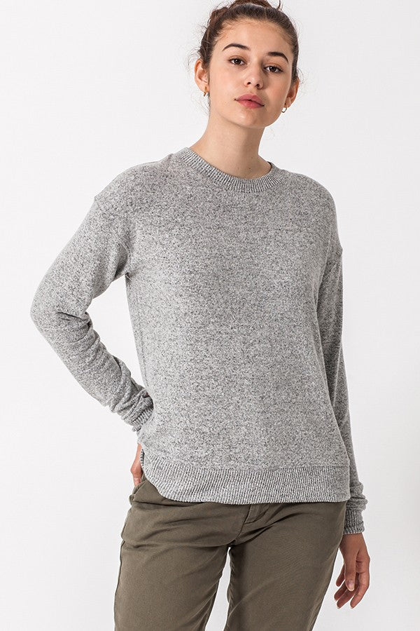 Long Sleeve Hacci Top | Stylish & Affordable | UOI Online