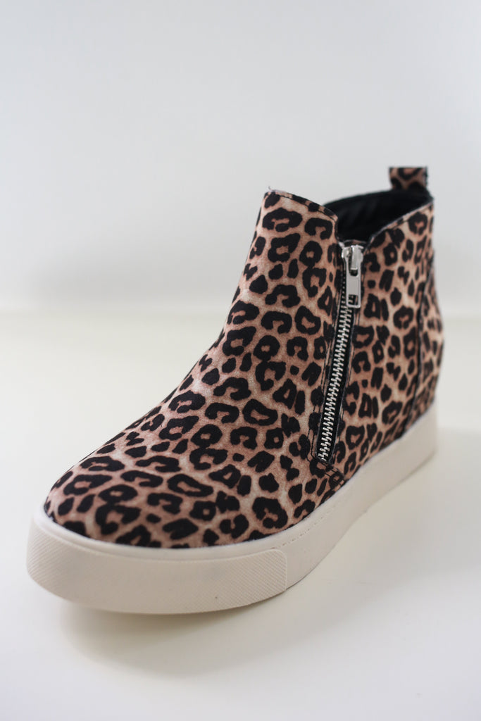 Leopard Sneaker Wedges | Stylish & Affordable | UOI Online