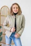 Vegan Leather Moto Jacket | Stylish & Affordable | UOI Online
