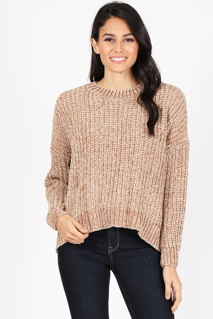Chenille Sweater | Stylish & Affordable | UOI Online