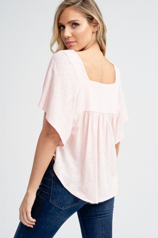 Babydoll Top - Online Clothing Boutique