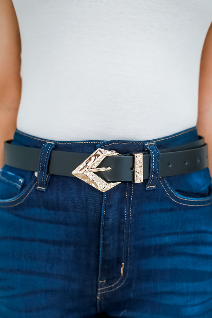 Faux Leather Belt | Stylish & Affordable | UOI Online
