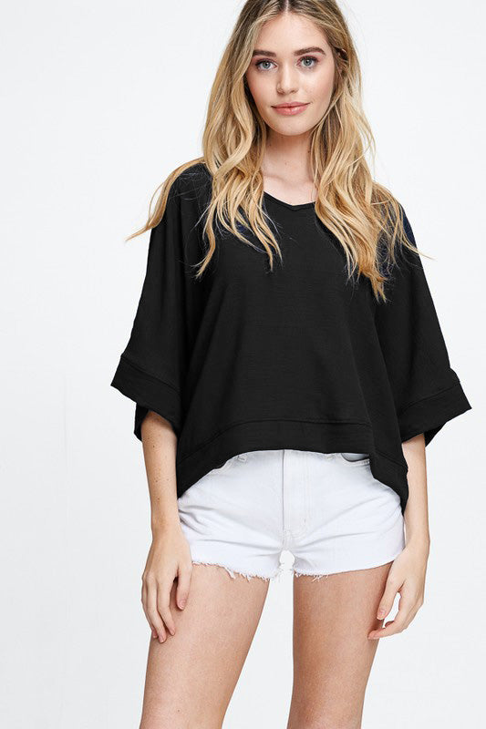 Boxy Tee - Online Clothing Boutique
