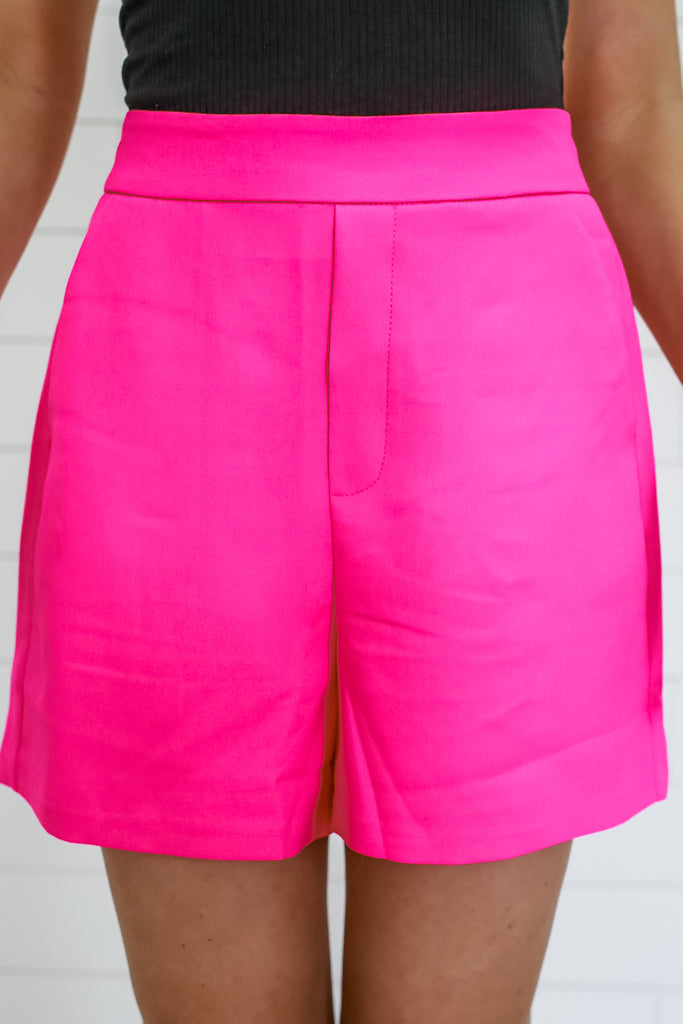 High Rise Fully Lined Shorts | Stylish & Affordable | UOI Online