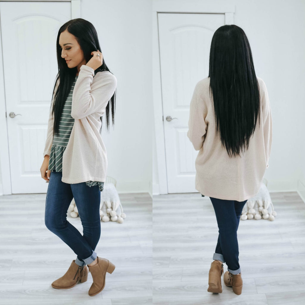 Basic Lightweight Cardigan - Online Clothing Boutique
