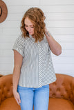 Button Front Top | Stylish & Affordable | UOI Online