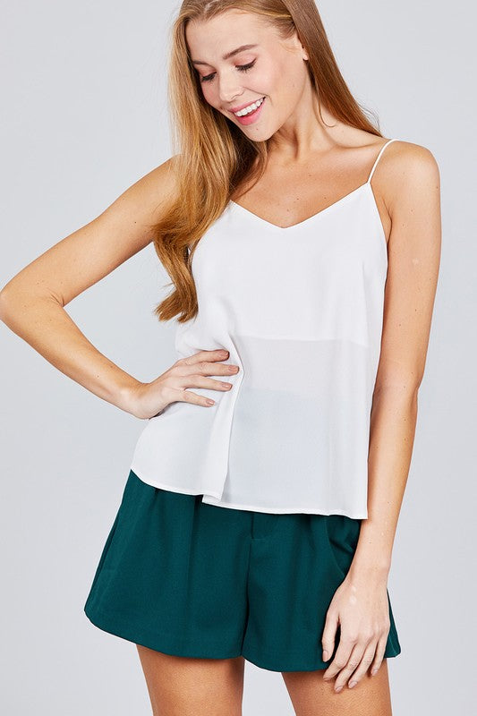 V-Neck Tank Top - Online Clothing Boutique