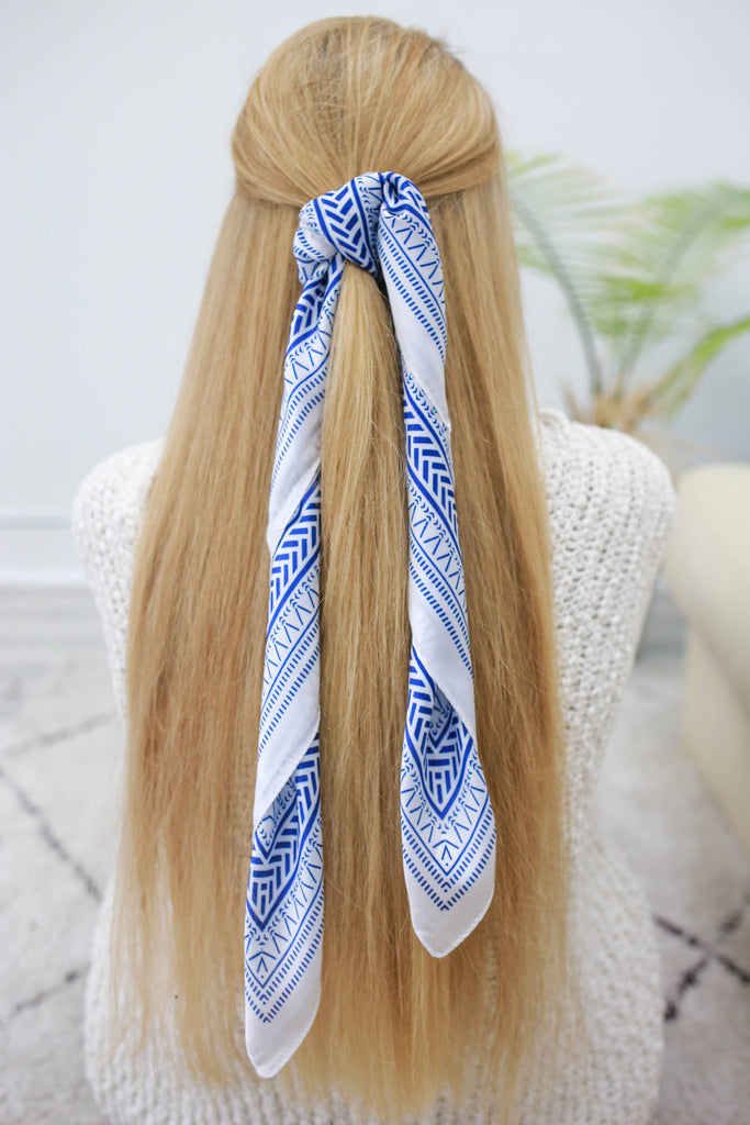 Striped Hair Scarf | Stylish & Affordable | UOI Online