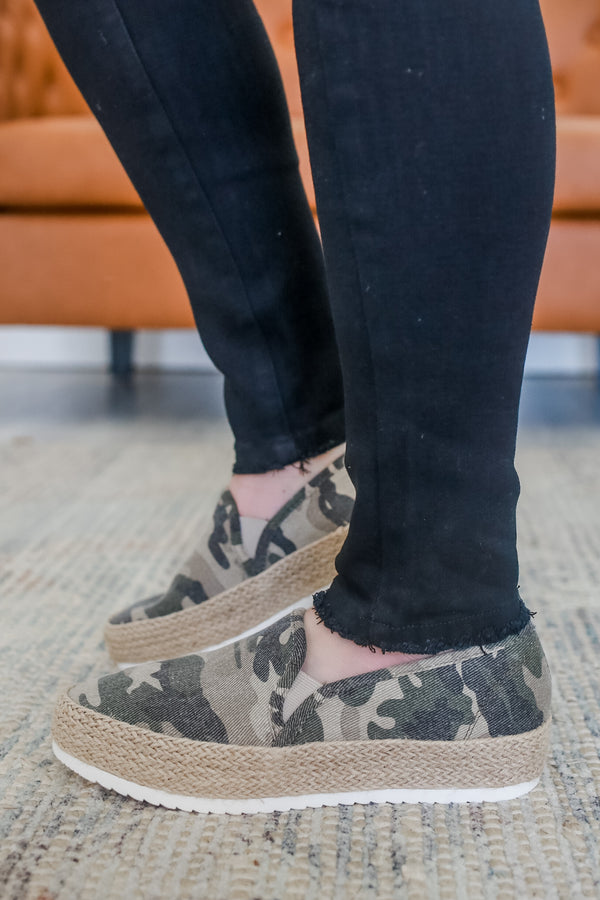 Camo Slip On Sneakers | Sytlish & Affordable | UOI Online