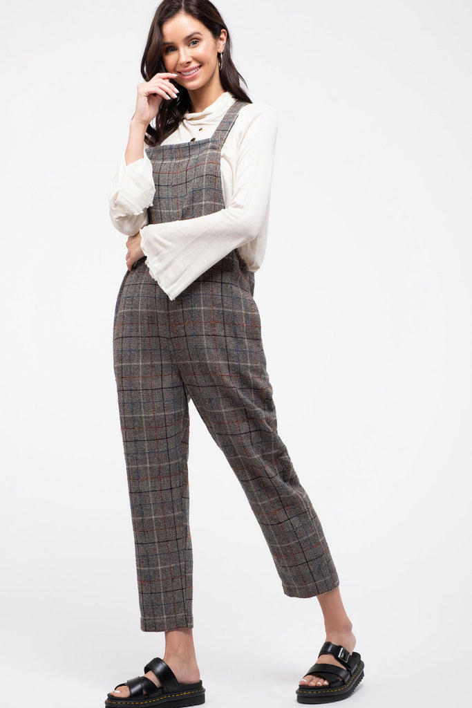 Plaid Jumpsuit | Stylish & Affordable | UOI Online