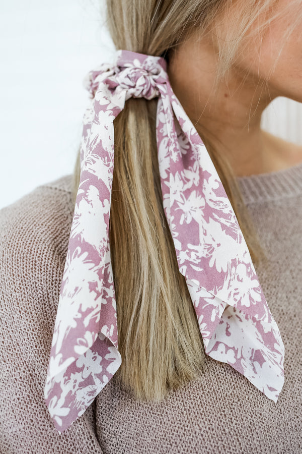 Floral Scrunchie Scarf | Stylish & Affordable | UOI Online