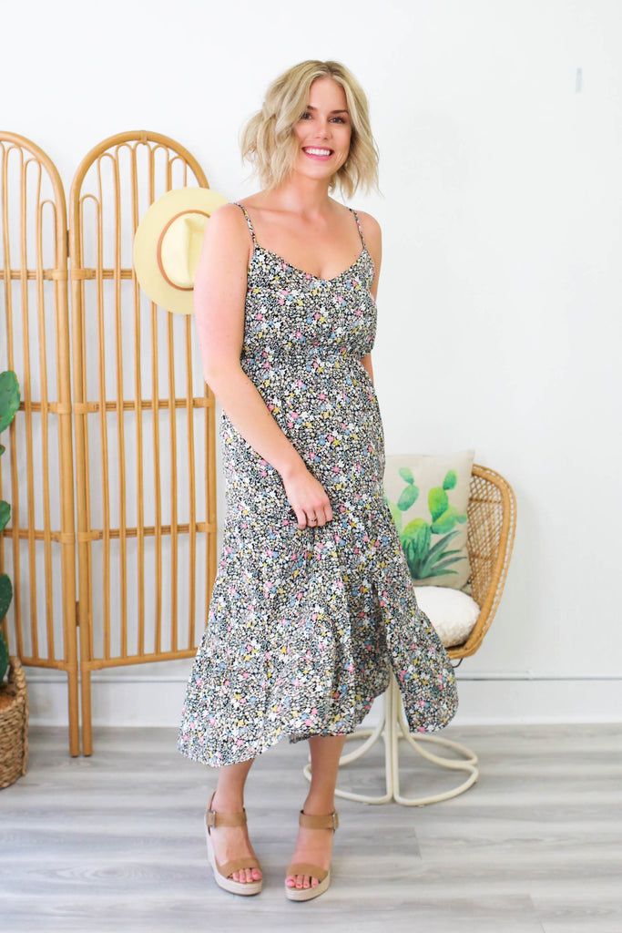 Floral Maxi Dress | Stylish & Affordable | UOI Online