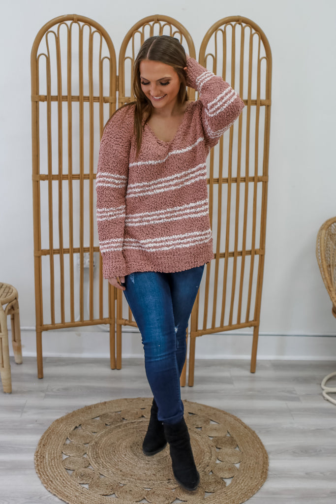 Striped Sweater | Stylish & Affordable | UOI Online
