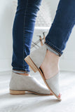 Lotus-01 Open Toe Booties - Online Clothing Boutique