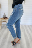 Distressed Boyfriend Denim - Online Clothing Boutique