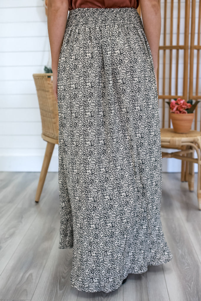 Vintage Floral Maxi Skirt | Stylish & Affordable | UOI Online