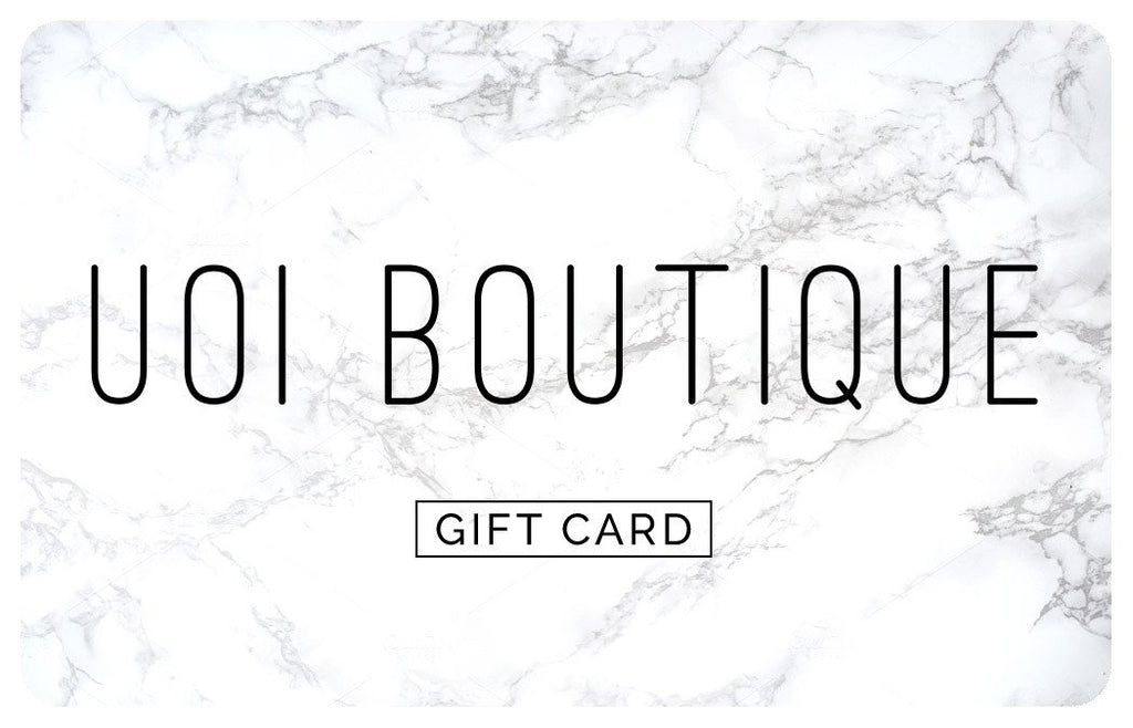 Gift Card - Online Clothing Boutique