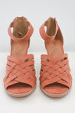 Faux Suede Block Heels - Online Clothing Boutique
