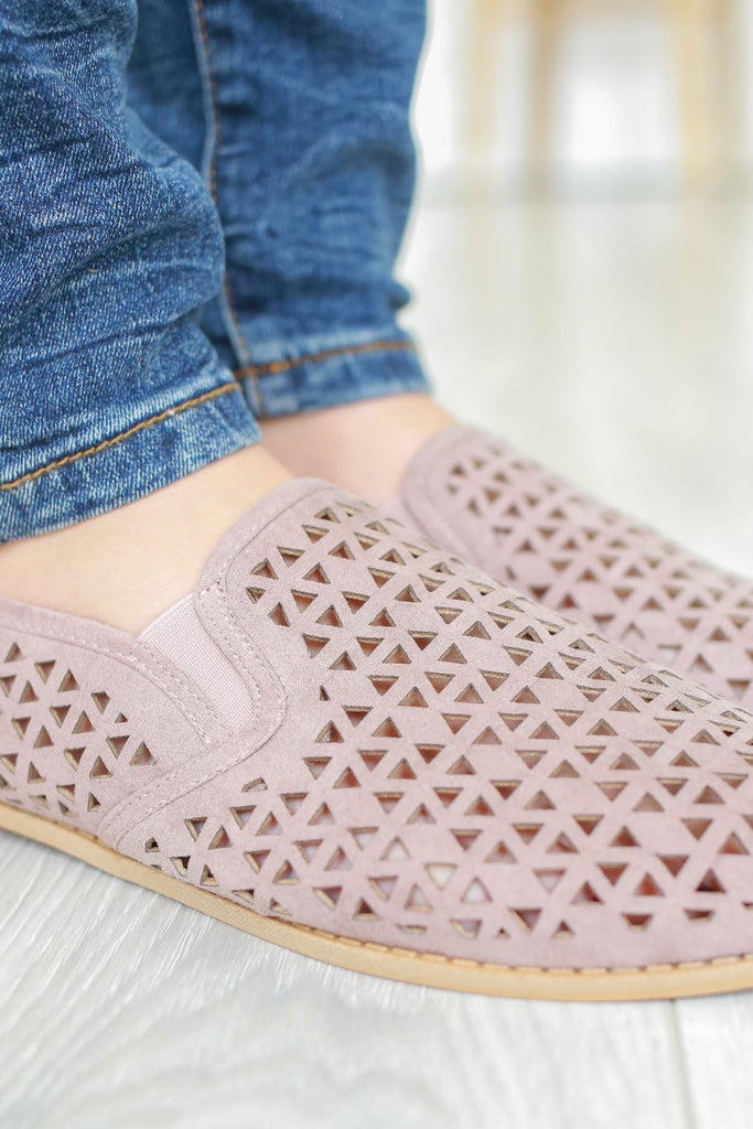 Perforated Loafers - Online Clothing Boutique