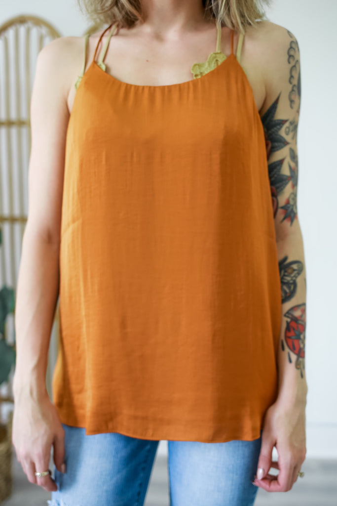 Cami Strap Tank | Stylish & Affordable | UOI Online