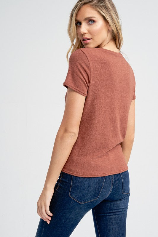 Short Sleeve Top - Online Clothing Boutique