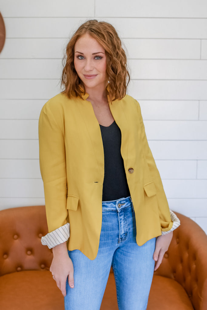 Long Sleeve Blazer | Stylish & Affordable | UOI Online