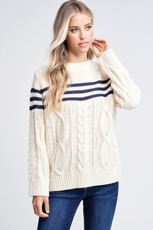 Cable Knit Sweater | Stylish & Affordable | UOI Online