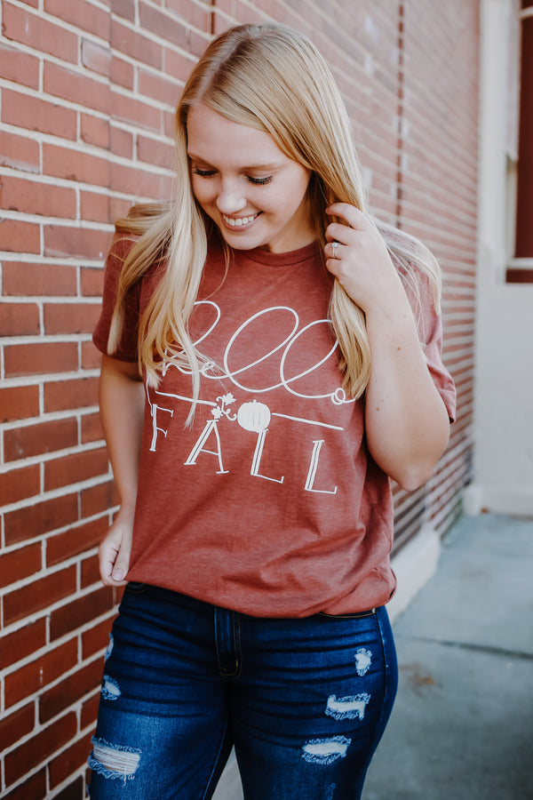 Fall Graphic Tee | Stylish & Affordable | UOI Online