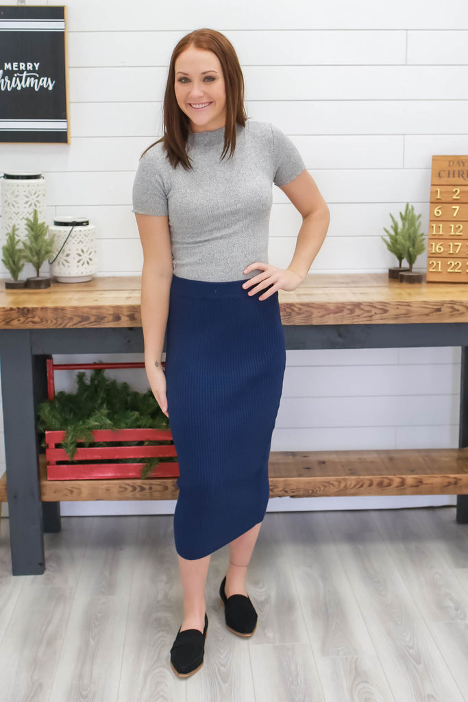 Midi Skirt | Stylish & Affordable | UOI Online