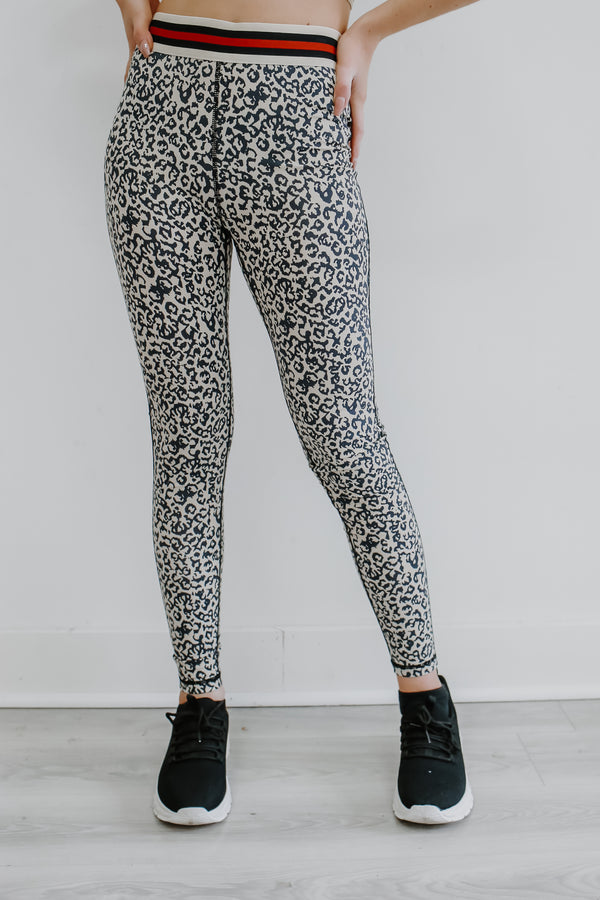 High-Waisted Leopard Print Leggings | Stylish & Affordable | UOI Online