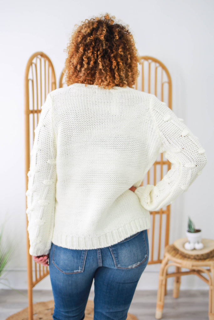 Balloon Sleeve Sweater | Stylish & Affordable | UOI Online