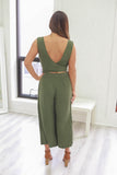 Cropped Jumpsuit - Online Clothing Boutique