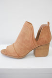 Faux Suede Booties - Online Clothing Boutique